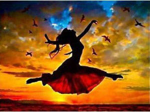 dancing-sunset