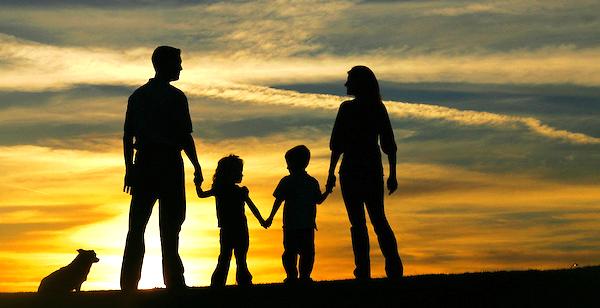 Family-Sunset