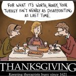 Just How Thankful Are We?